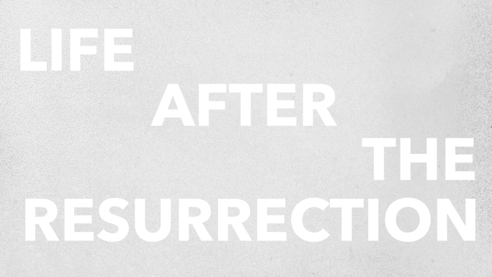 Life After the Resurrection